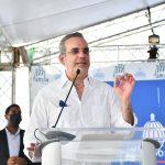 Palabras presidente Luis Abinader primer picazo Plan Nacional de Viviendas Familia Feliz